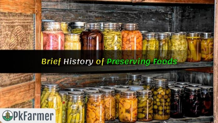 Brief History of Preserving Foods